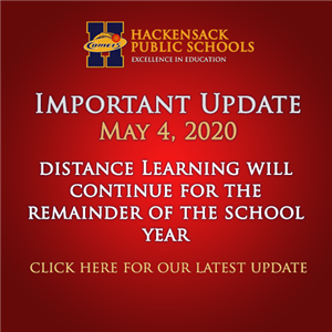 Important Update: Distance Learning will continue for the remainder of the school year.