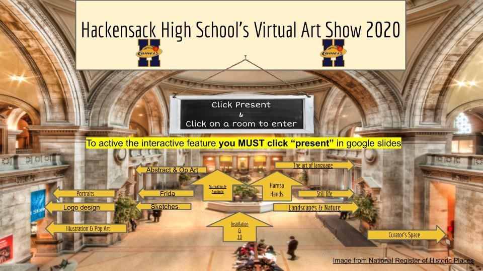 HHS Holds Virtual Art Show