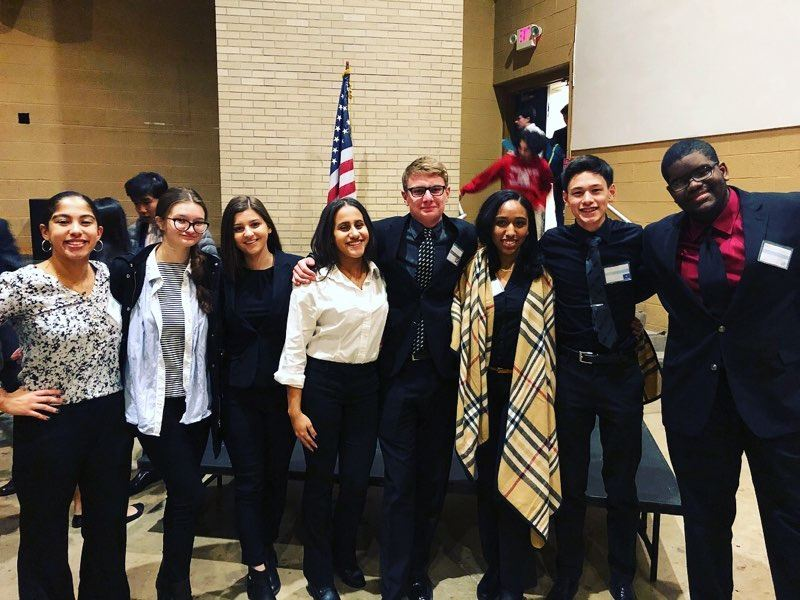 HHS Attends Model UN Conference
