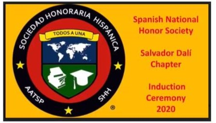 HHS Spanish National Honor Society Holds Virtual Induction Ceremony
