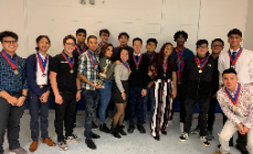 HHS Academic Decathlon Team Places 4th In Regional Competition
