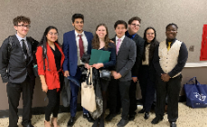 HHS Model UN Competes In Bergen Academies Conference