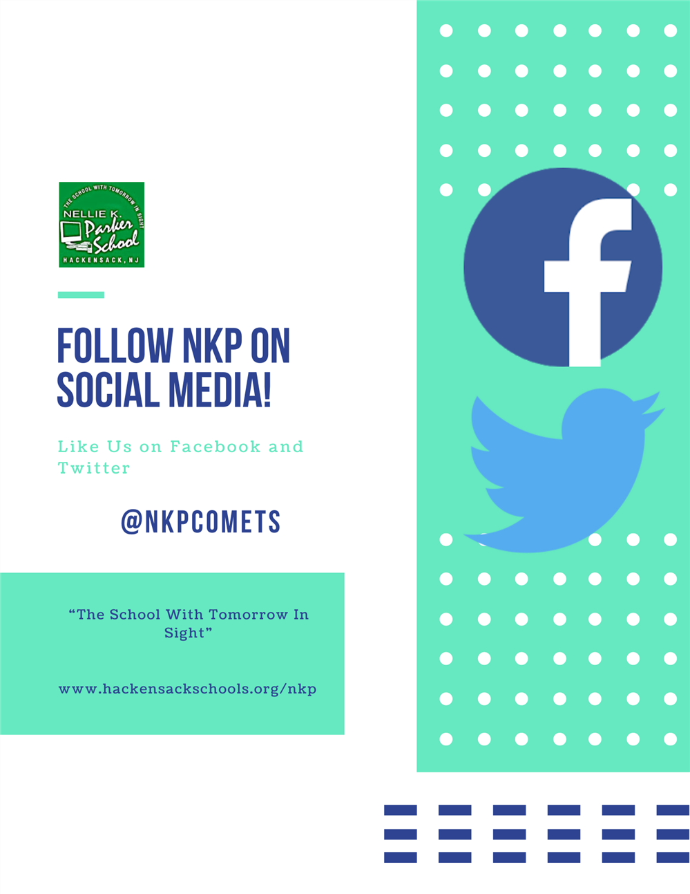 NKP Facebook and Twitter